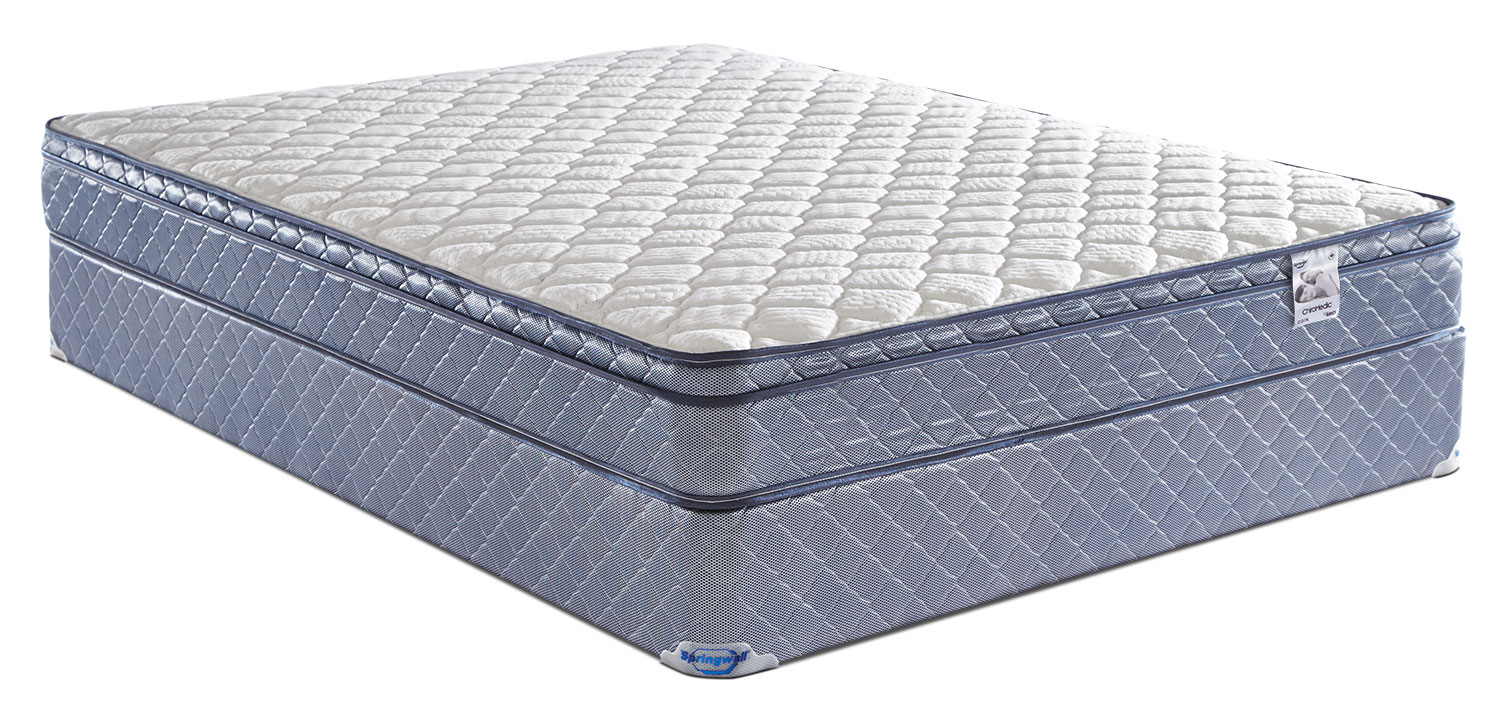 Springwall Odin Euro-Top Firm Queen Mattress Set