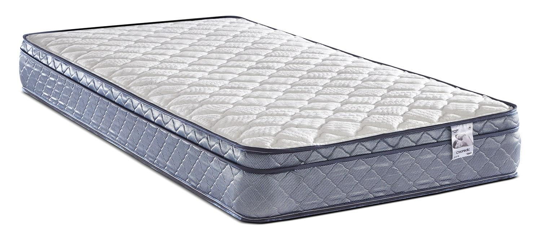 Mattresses and Bedding - Springwall Odin Euro-Top Firm Twin Mattress