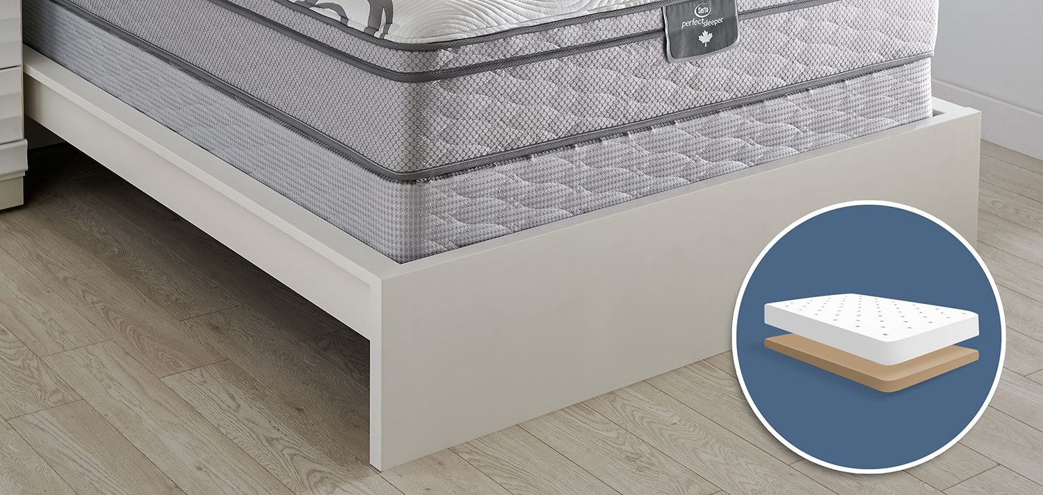 Mattresses and Bedding - Serta Perfect Sleeper 2016 Low-Profile Twin Boxspring