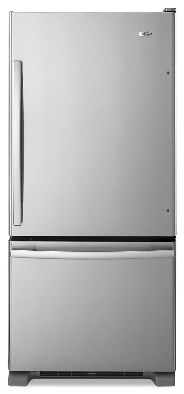 [Amana Stainless Steel Bottom-Freezer Refrigerator (18.7 Cu. Ft.) - ABB1924BRM]