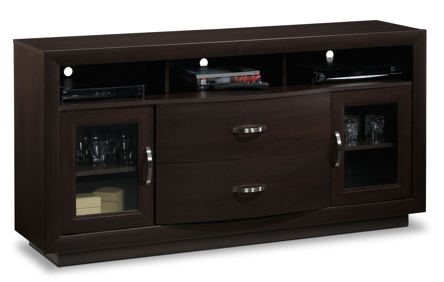 Entertainment Furniture - Bruno TV Credenza - Java
