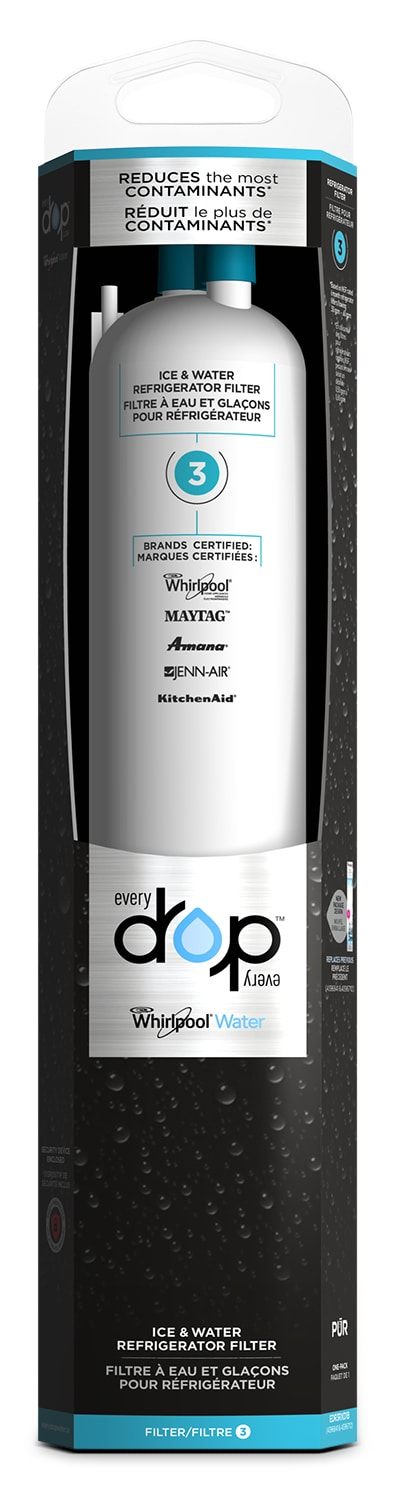 Appliance Accessories - Whirlpool Everydrop™ Ice & Water Refrigerator Filter 3