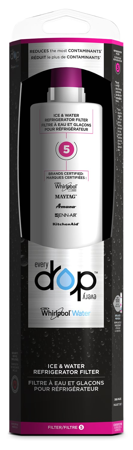 Appliance Accessories - Whirlpool Everydrop™ Ice & Water Refrigerator Filter 5