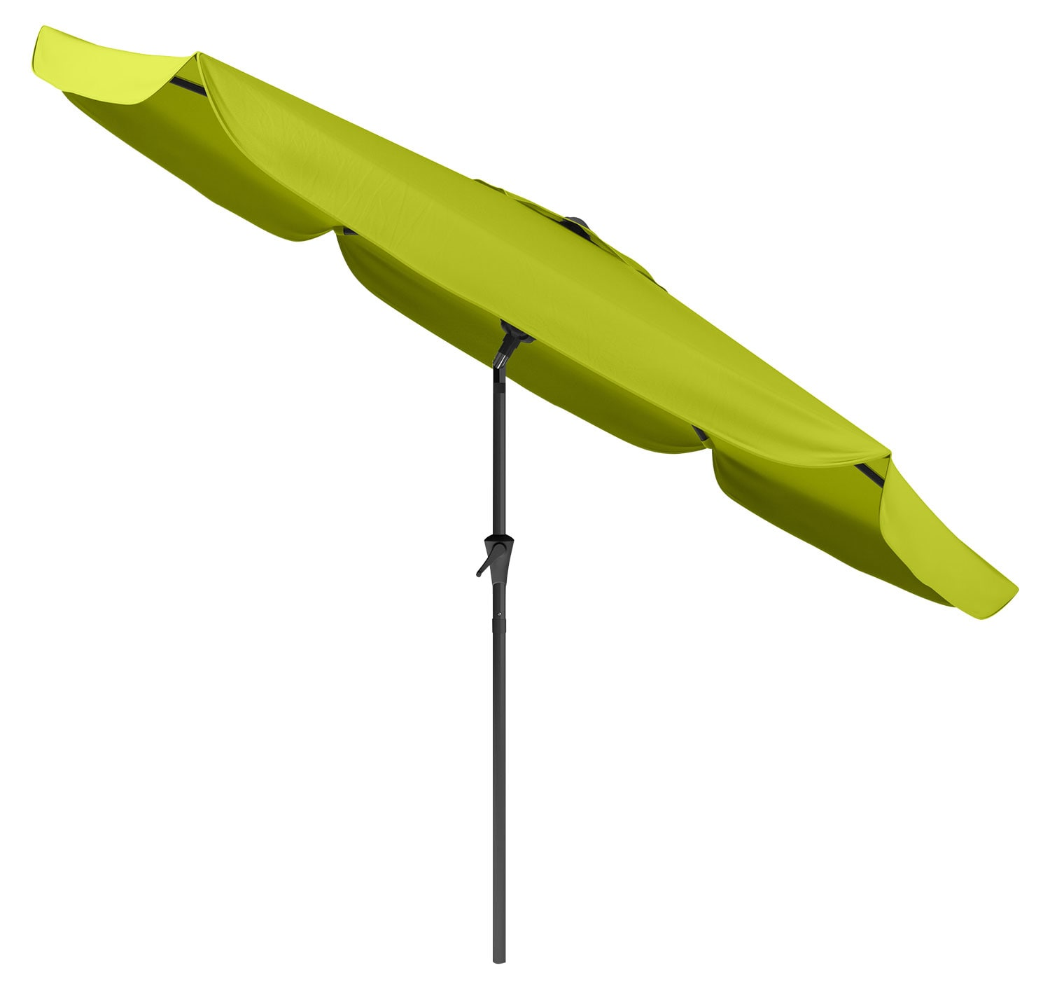 Outdoor Furniture - Tilting-Top Patio Umbrella – Lime Green