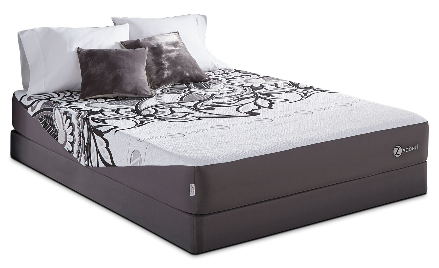 Zedbed Vertuo Tight-Top King Mattress Set