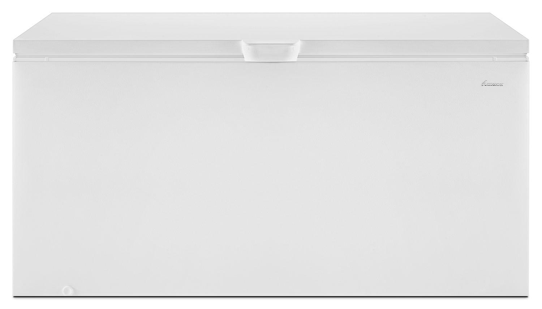 Refrigerators and Freezers - Amana White Chest Freezer (21.7 Cu. Ft.) - AZC31T22DW
