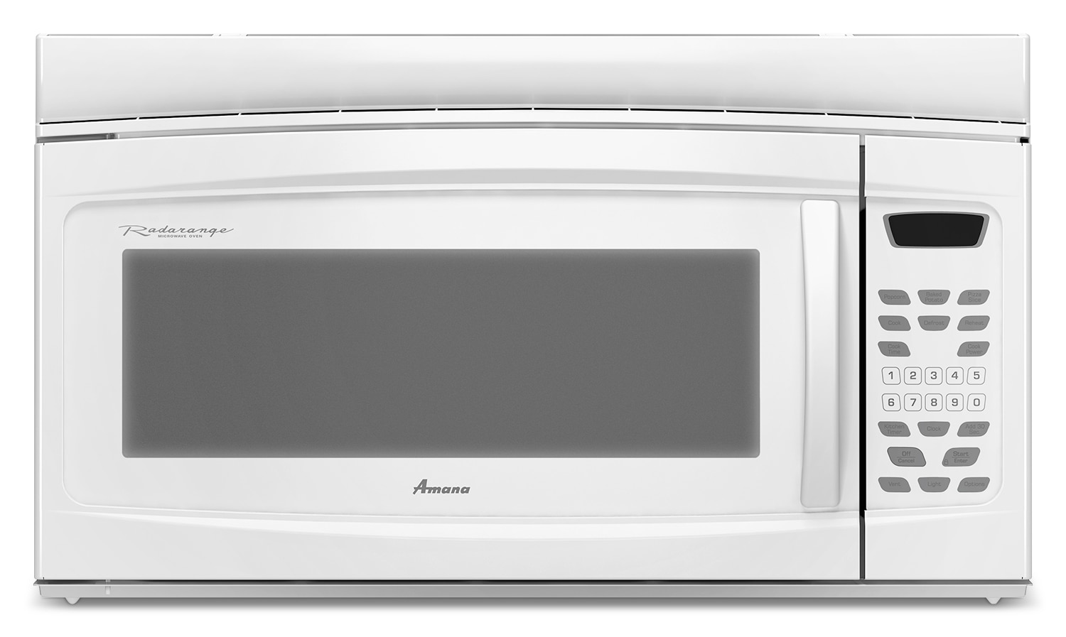 Cooking Products - Amana Over-the-Range Microwave (1.6 Cu. Ft.) - YAMV1160VAW