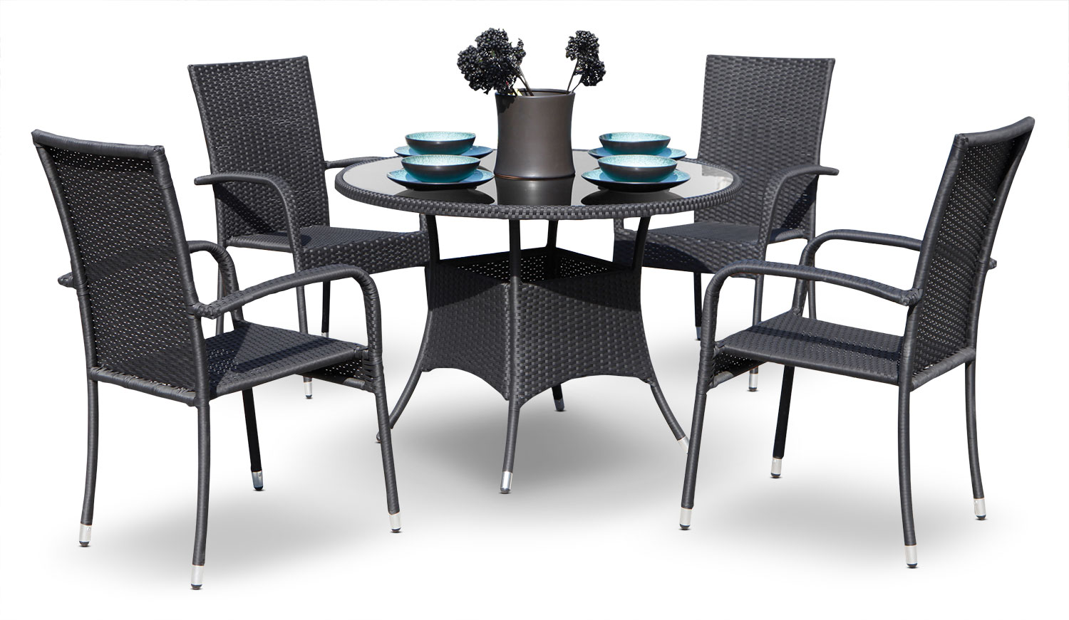 Outdoor Furniture - Haiti 5-Piece Patio Set