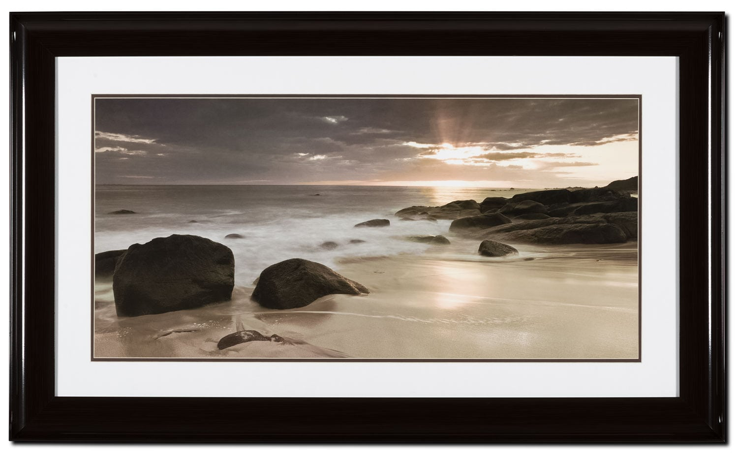 "Home Accessories - Midnight Sunset – 46"" x 28"""