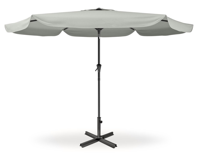 Outdoor Furniture - Culver Patio Umbrella - Sand Grey