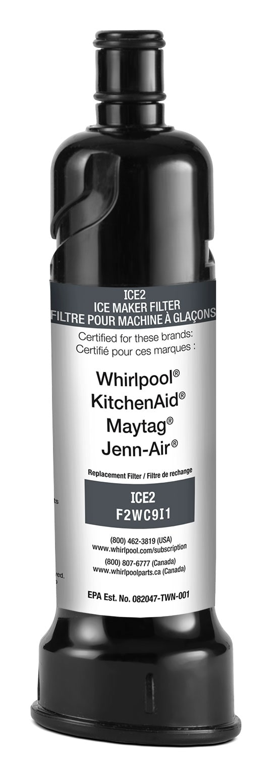 Refrigerators and Freezers - Whirlpool Ice Maker Water Filter - F2WC9I1