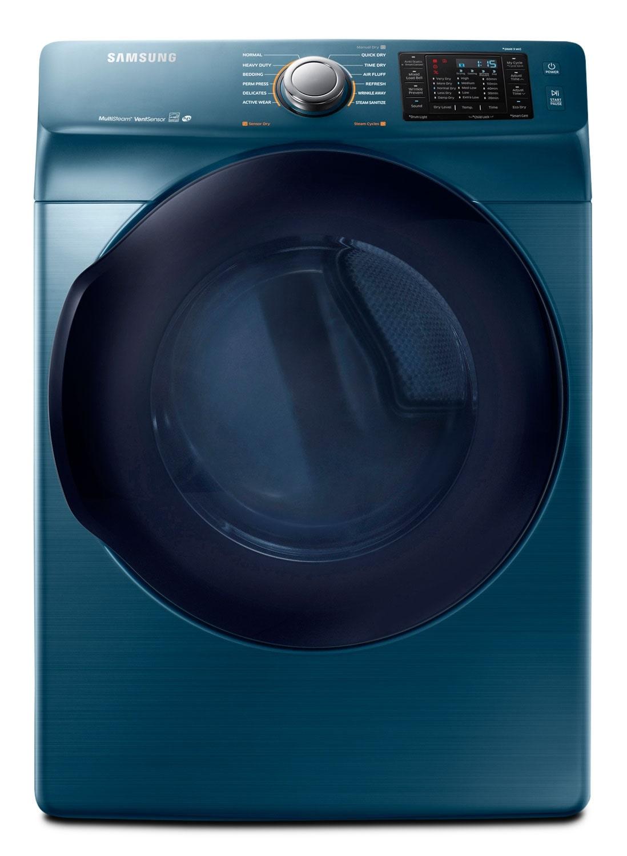 Samsung 7.5 Cu. Ft. Electric Dryer – Sapphire Blue DV45K6200EZ/AC