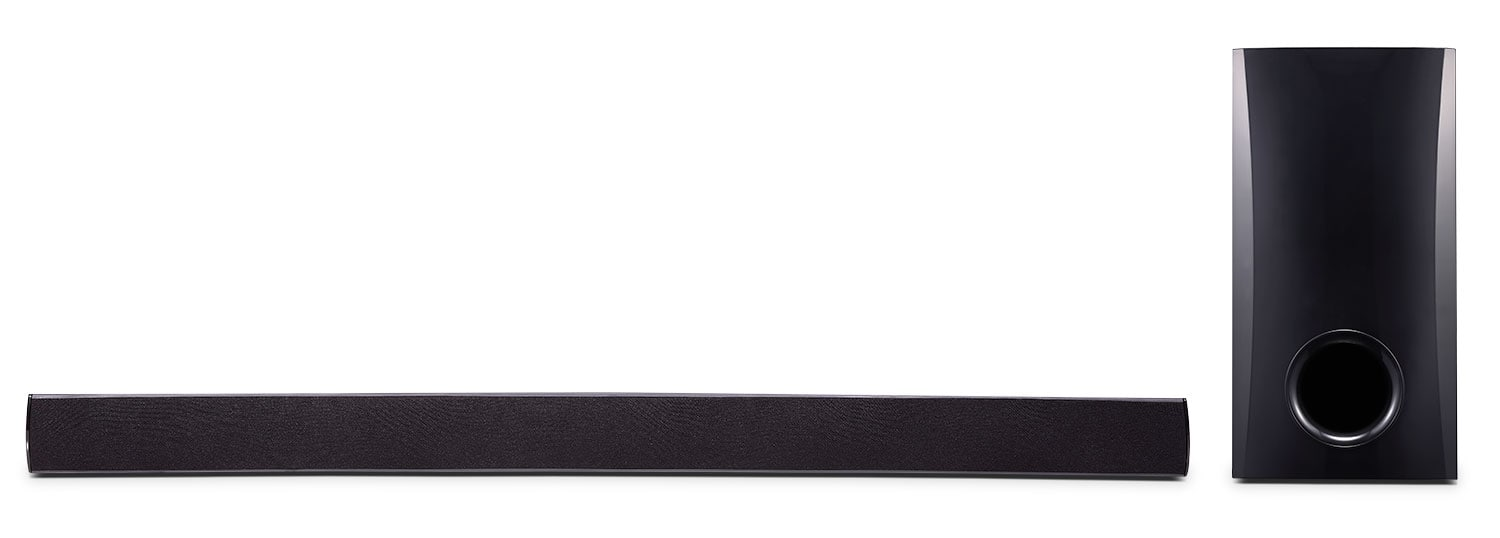 LG 100 W Soundbar with Subwoofer and Bluetooth Connectivity
