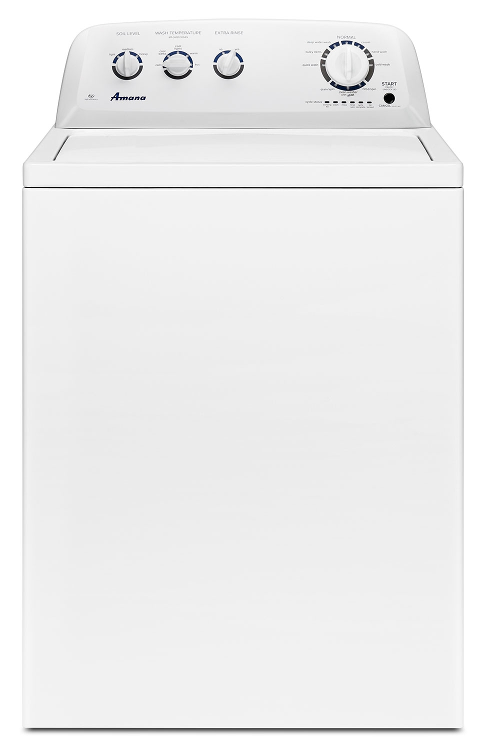Amana White Top-Load Electric Washer (4.1 Cu. Ft.) - NTW4705EW