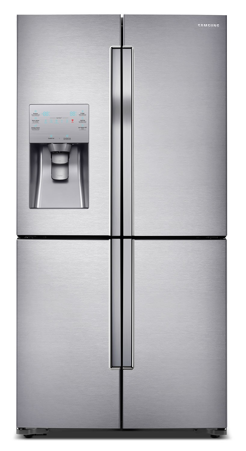 Refrigerators and Freezers - Samsung Stainless Steel French-Door Refrigerator (22.5 Cu. Ft.) - RF23J9011SR