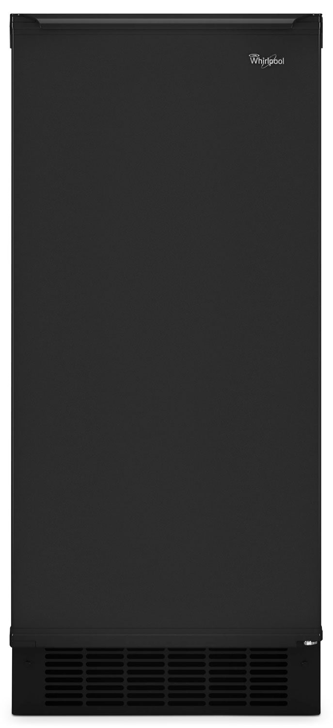 "Refrigerators and Freezers - Whirlpool Black 15"" Ice Maker - GI15NDXZB"
