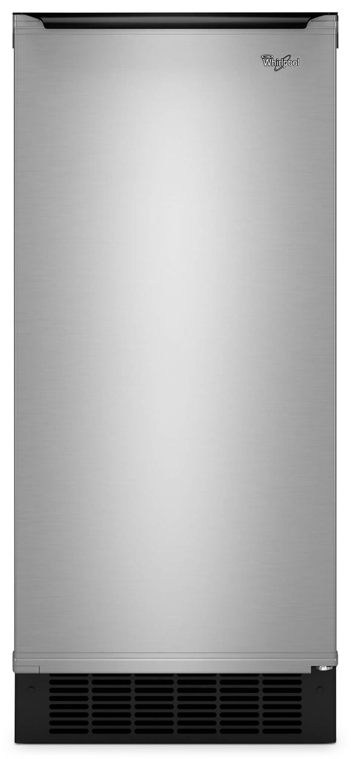 "Refrigerators and Freezers - Whirlpool Stainless Steel 15"" Ice Maker - GI15NDXZS"