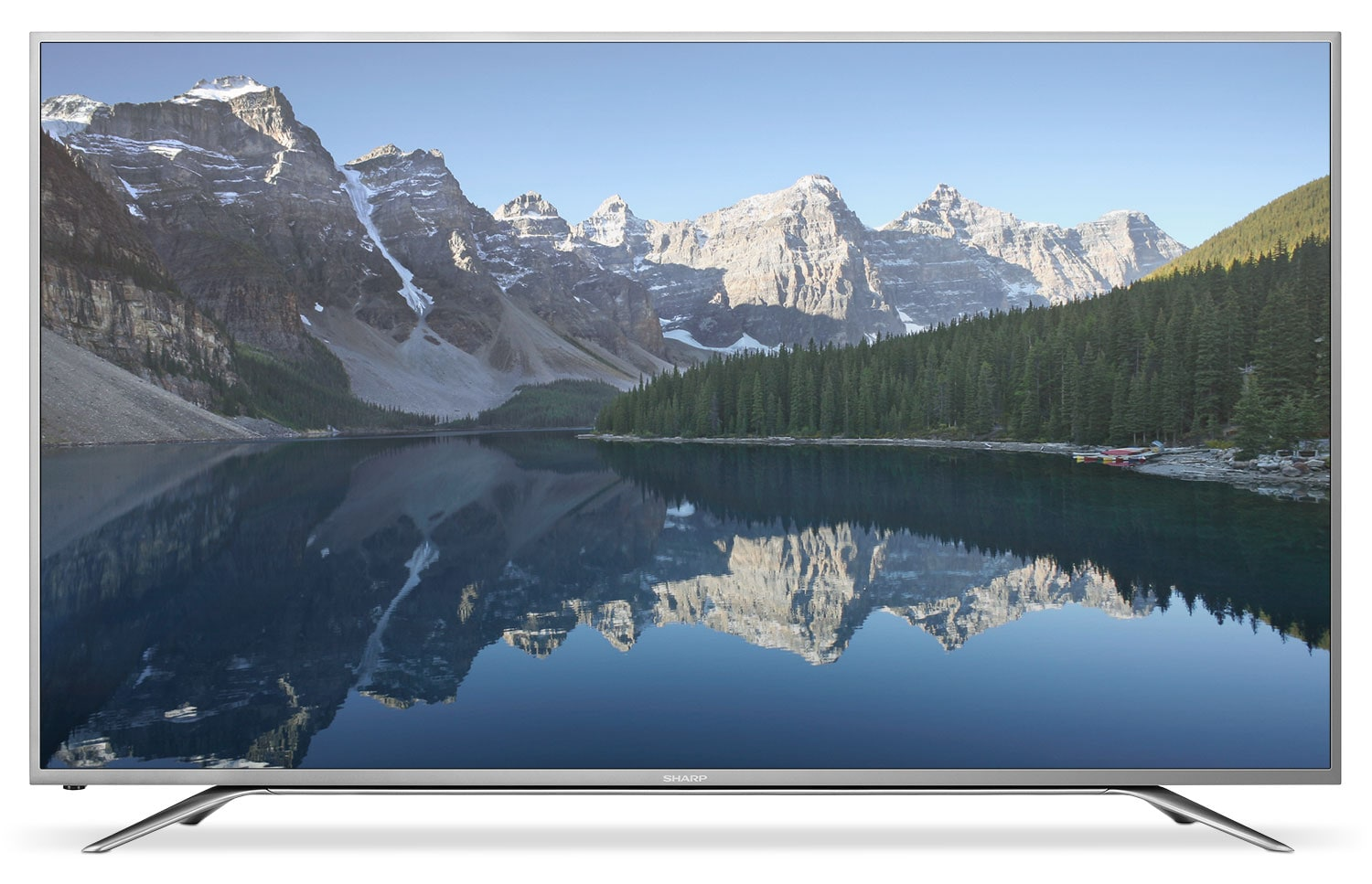 "Sharp Aquos 65"" 4K Ultra HD LED Smart Television"