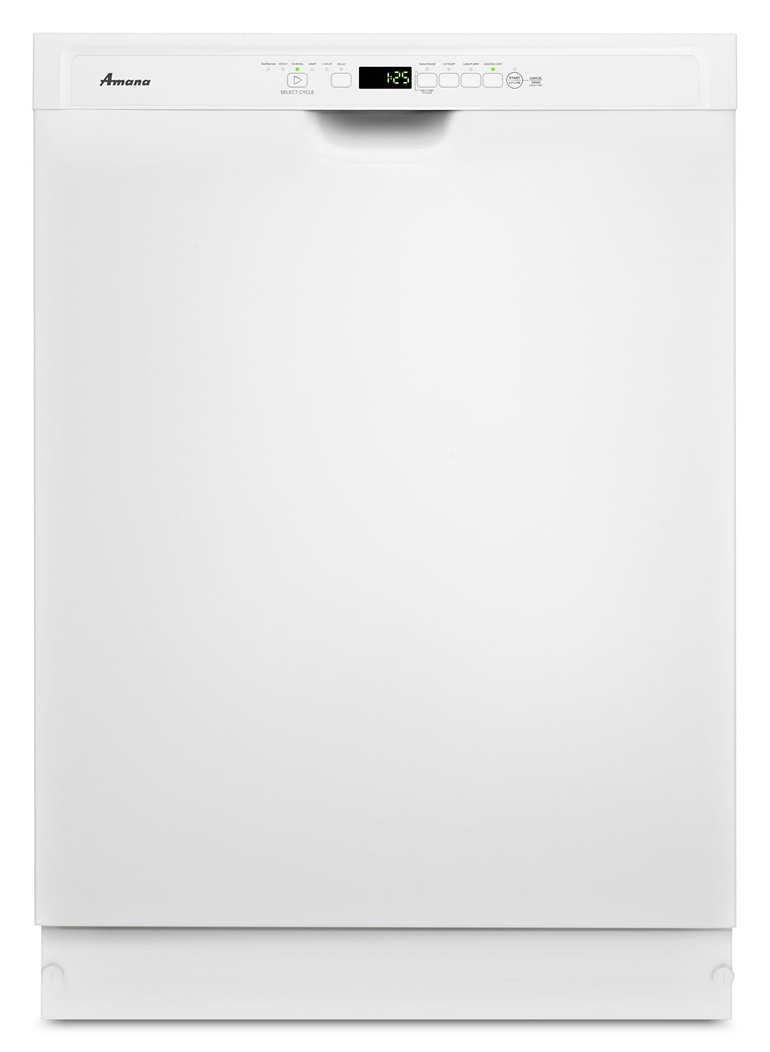 "Clean-Up - Amana 24"" White Dishwasher - ADB1700ADW"