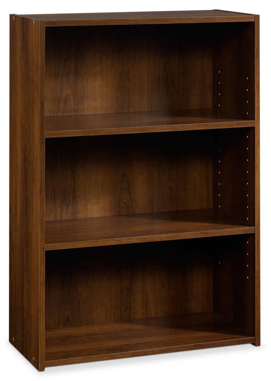 Home Office Furniture - Boston 3-Shelf Bookcase – Brook Cherry