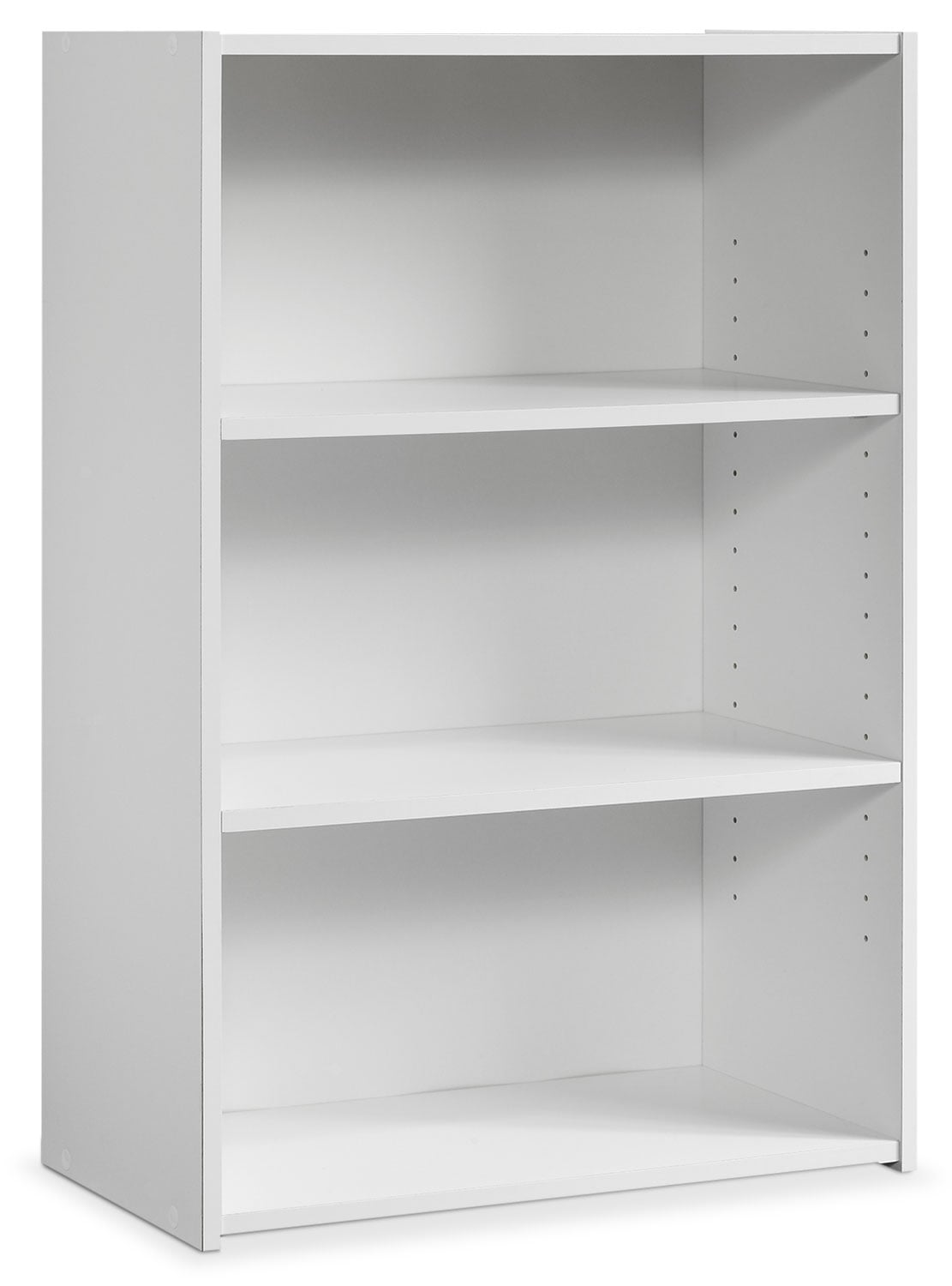 Boston 3-Shelf Bookcase – White