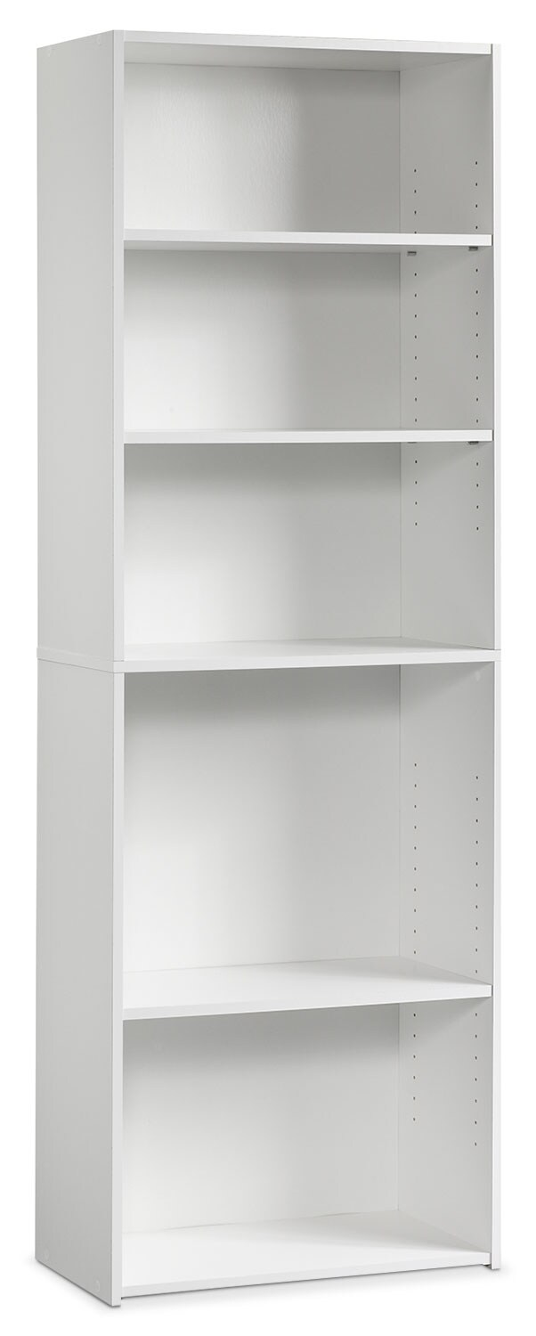 Beginnings 3-Shelf Bookcase – White