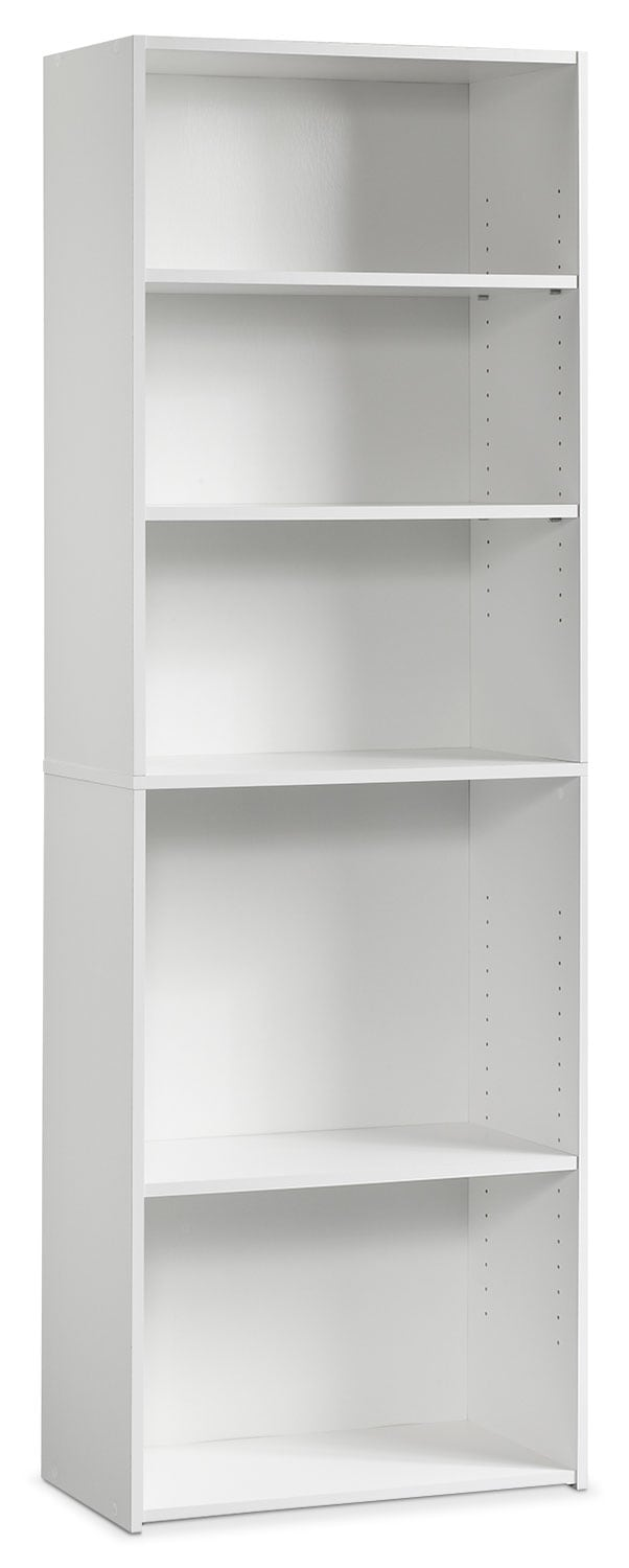 Home Office Furniture - Beginnings 3-Shelf Bookcase – White