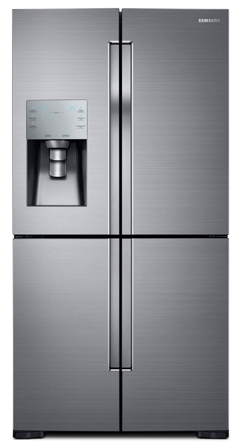 samsung stainless steel french door refrigerator 28 cu. Black Bedroom Furniture Sets. Home Design Ideas