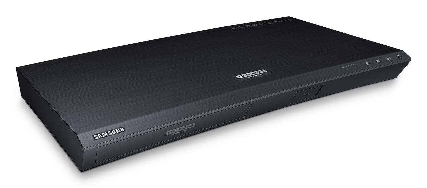 Samsung Curved UHD Blu-ray Player with 4K Upscaling