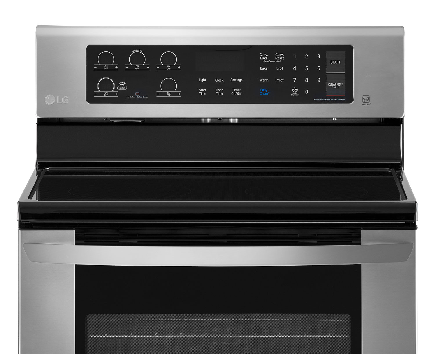 Lg Stainless Steel Electric Convection Range 6 3 Cu Ft
