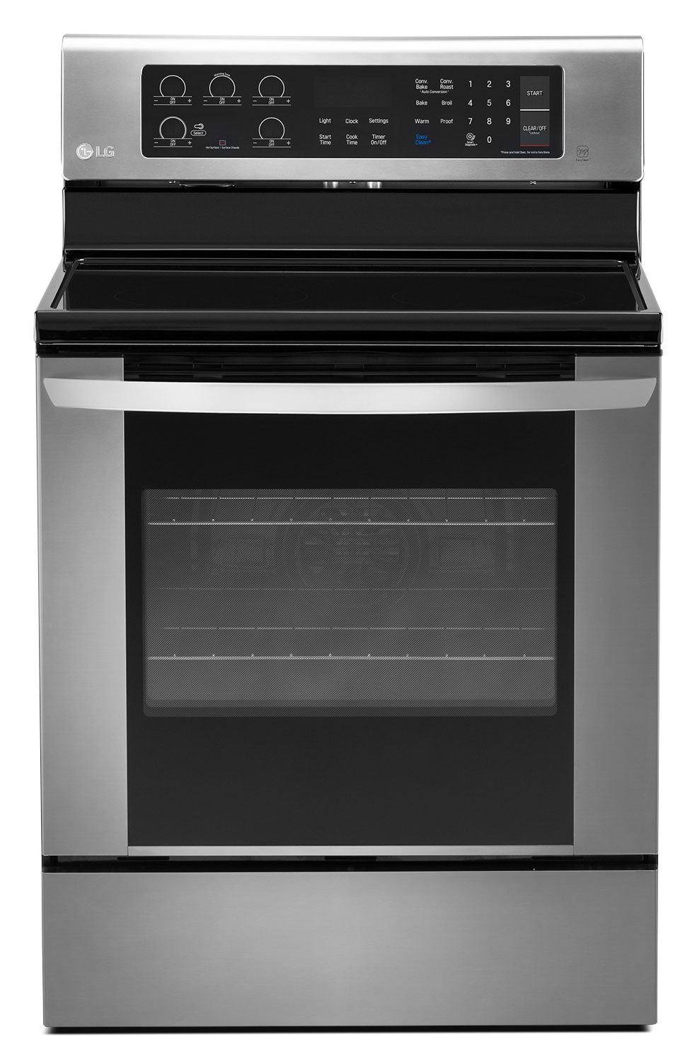 Kitchen Ranges And Ovens ~ Lg stainless steel electric convection range cu ft