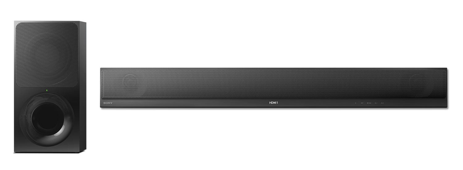 Sound Systems - Sony 2.1 Channel Soundbar and Wireless Subwoofer – 330 W