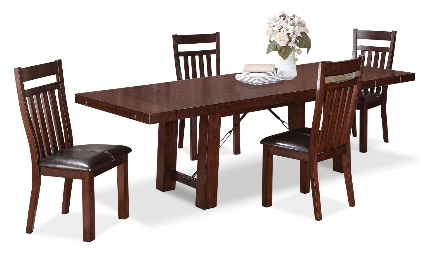 Dining Room Furniture - Sonoma 5-Piece Dining Package