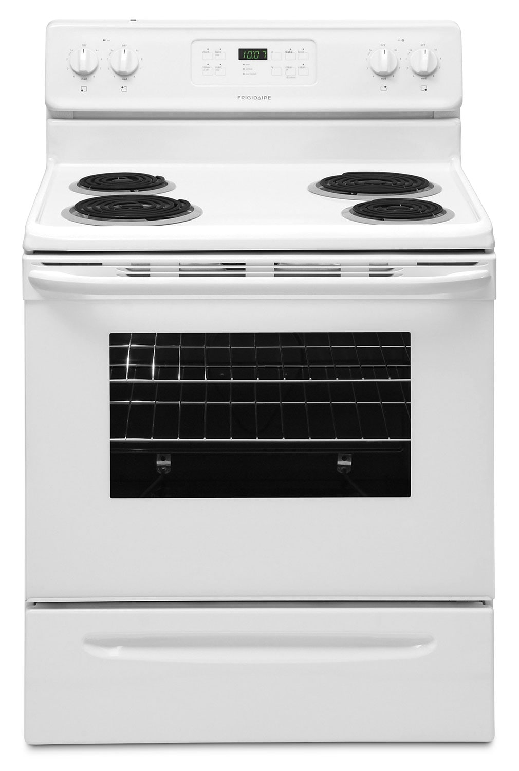 Frigidaire White Freestanding Electric Range (5.3 Cu. Ft.) - CFEF3016LW