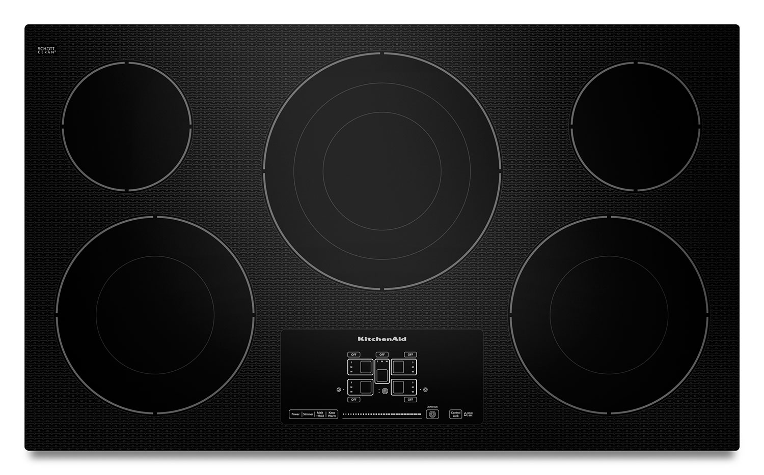 Cooking Products - KitchenAid 36'' Electric Cooktop – KECC667BBL