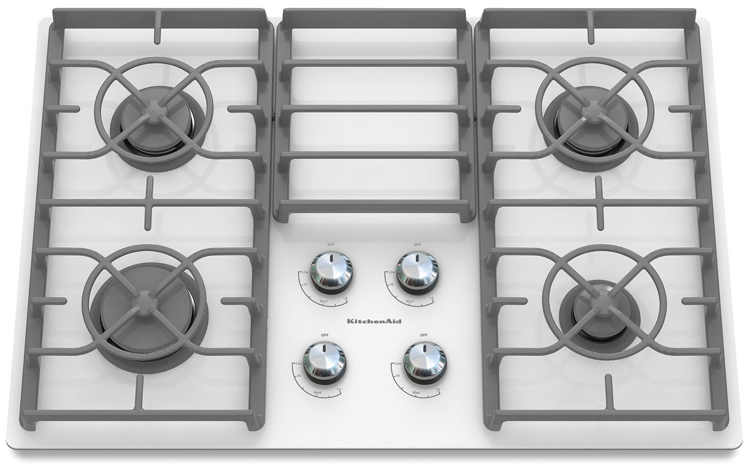 "Cooking Products - KitchenAid Architect® Series II 30"" Gas Cooktop – KGCC506RWW"