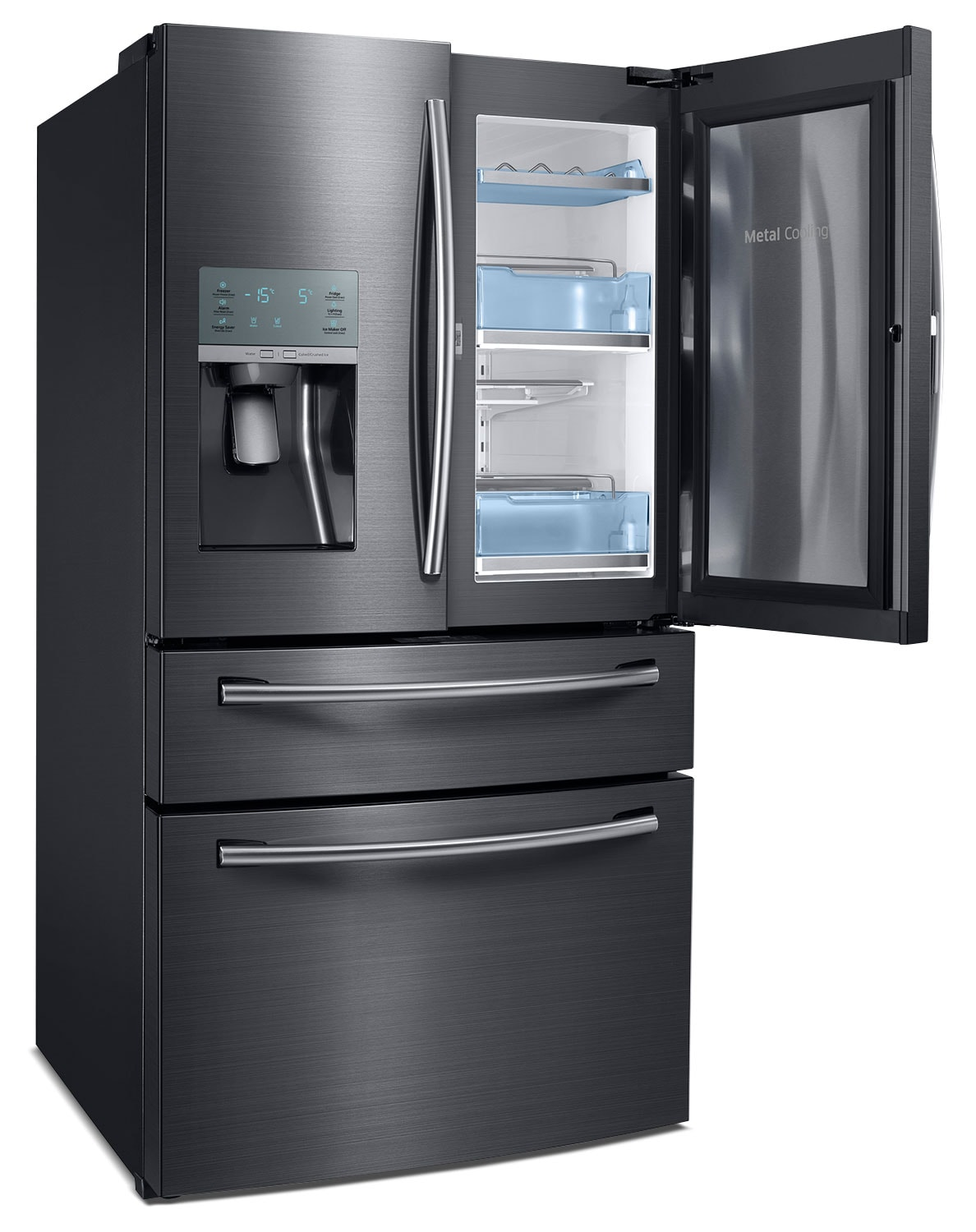 Samsung 27 8 Cu Ft French Door Refrigerator Black
