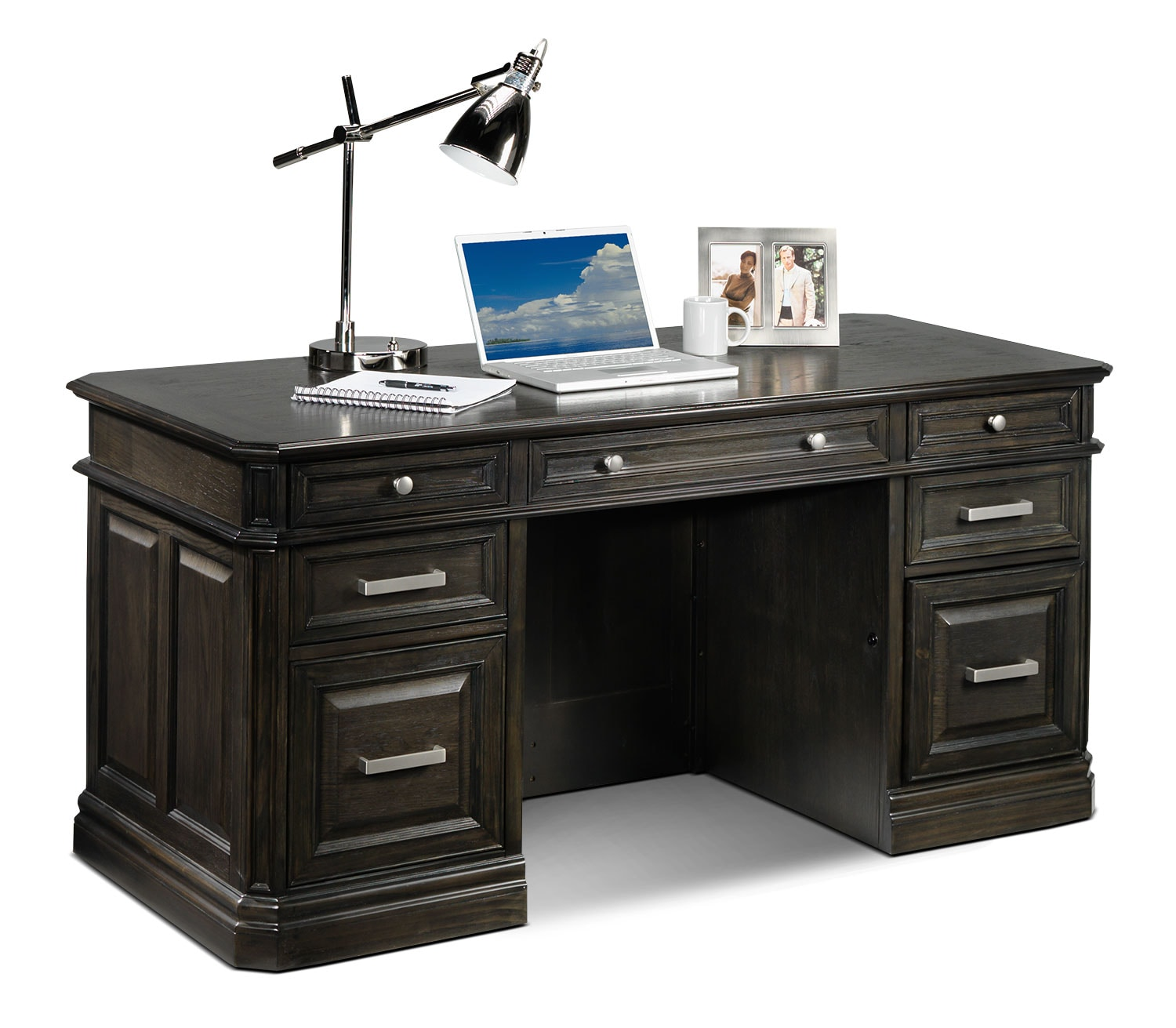 Home Office Furniture - Copley 3 Pc. Executive Desk