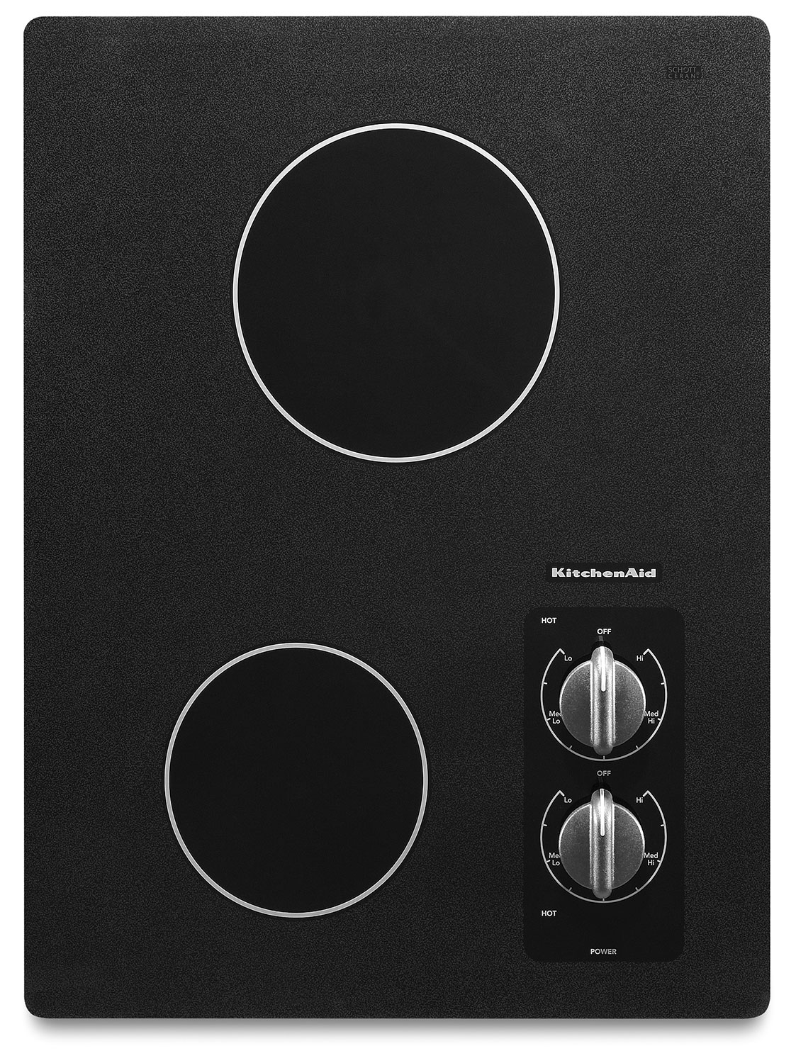 Cooking Products - KitchenAid 15'' Electric Cooktop – KECC056RBL