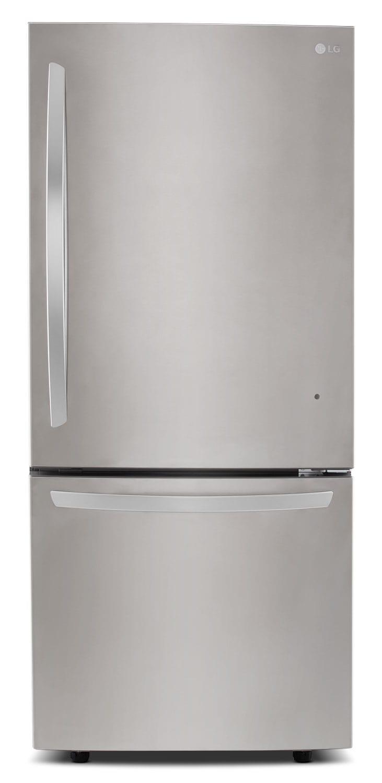 Lg Appliances Stainless Steel Bottom Freezer Refrigerator
