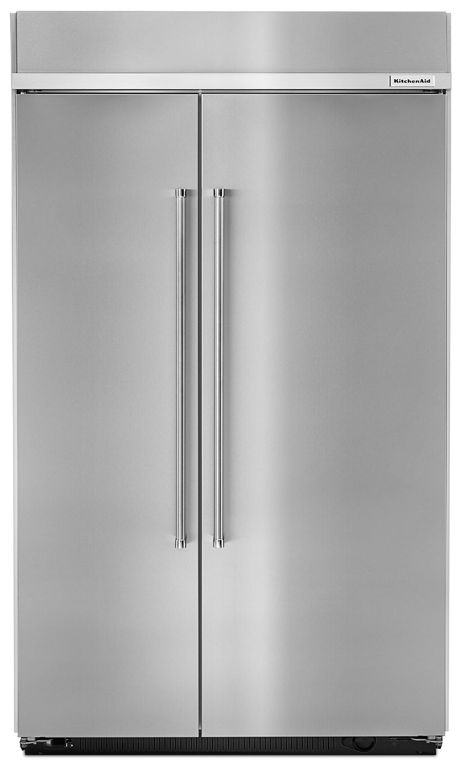 Refrigerators and Freezers - KitchenAid Stainless Steel Side-by-Side Refrigerator (30.0 Cu. Ft.) - KKBSN608ESS