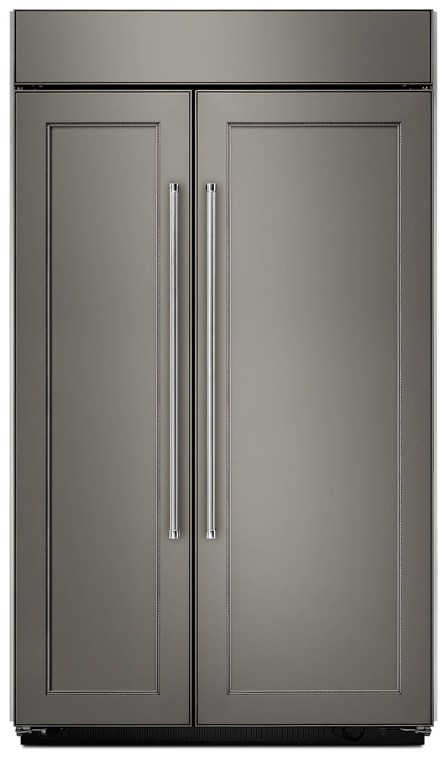 Refrigerators and Freezers - KitchenAid 30.0 Cu. Ft Built-In Side-by-Side Refrigerator – Panel Ready KBSN608EPA