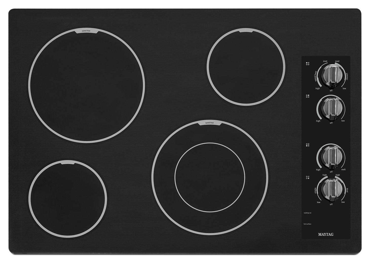 Cooking Products - Maytag Black Electric Cooktop - MEC7430BB
