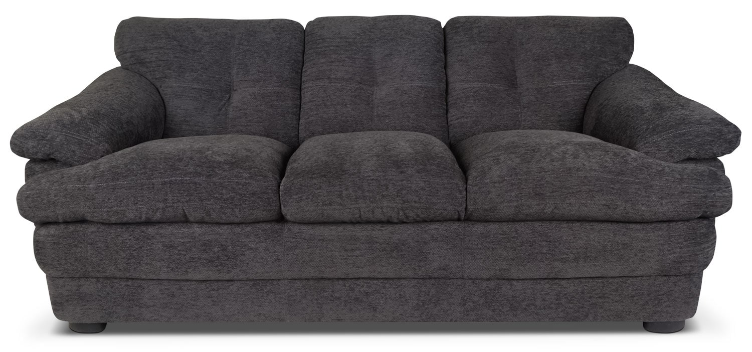 Living Room Furniture - Lisbon Chenille Sofa – Grey