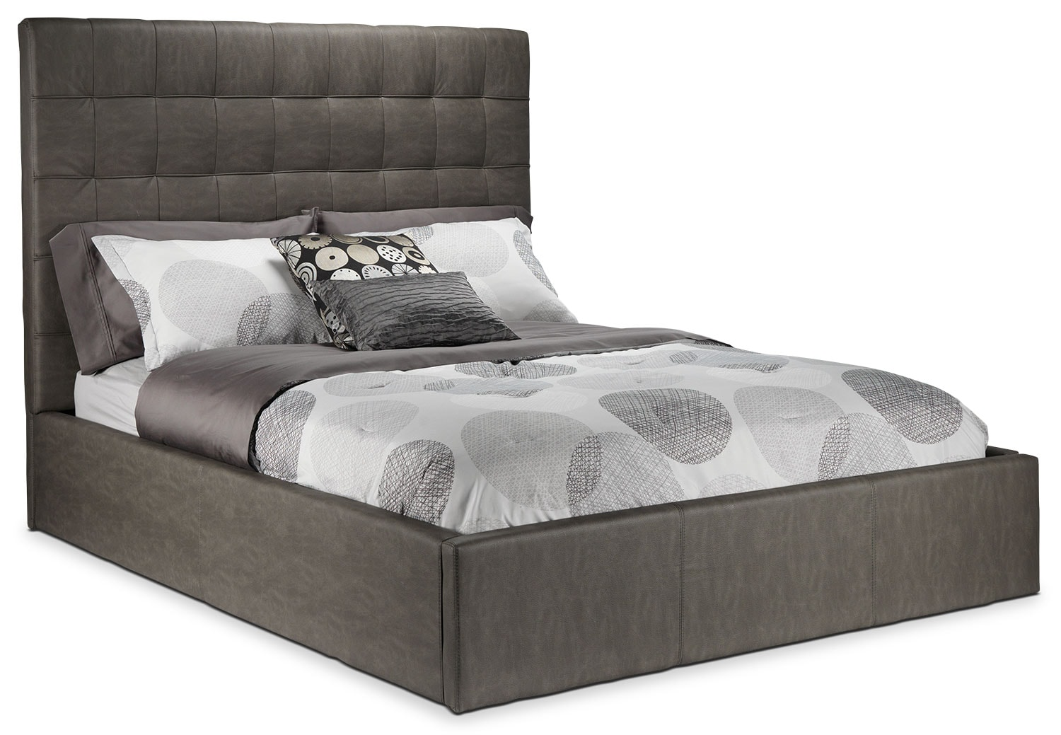 Franklin King Bed - Taupe