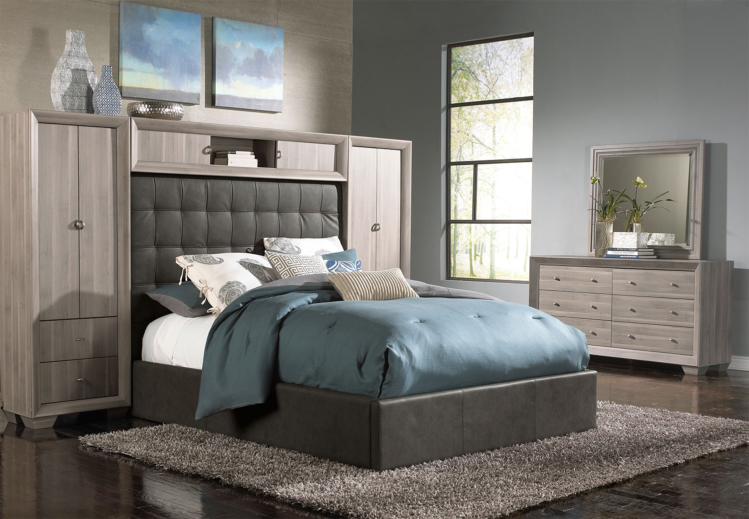 wall pictures for bedroom franklin 5 king wallbed taupe s 17754