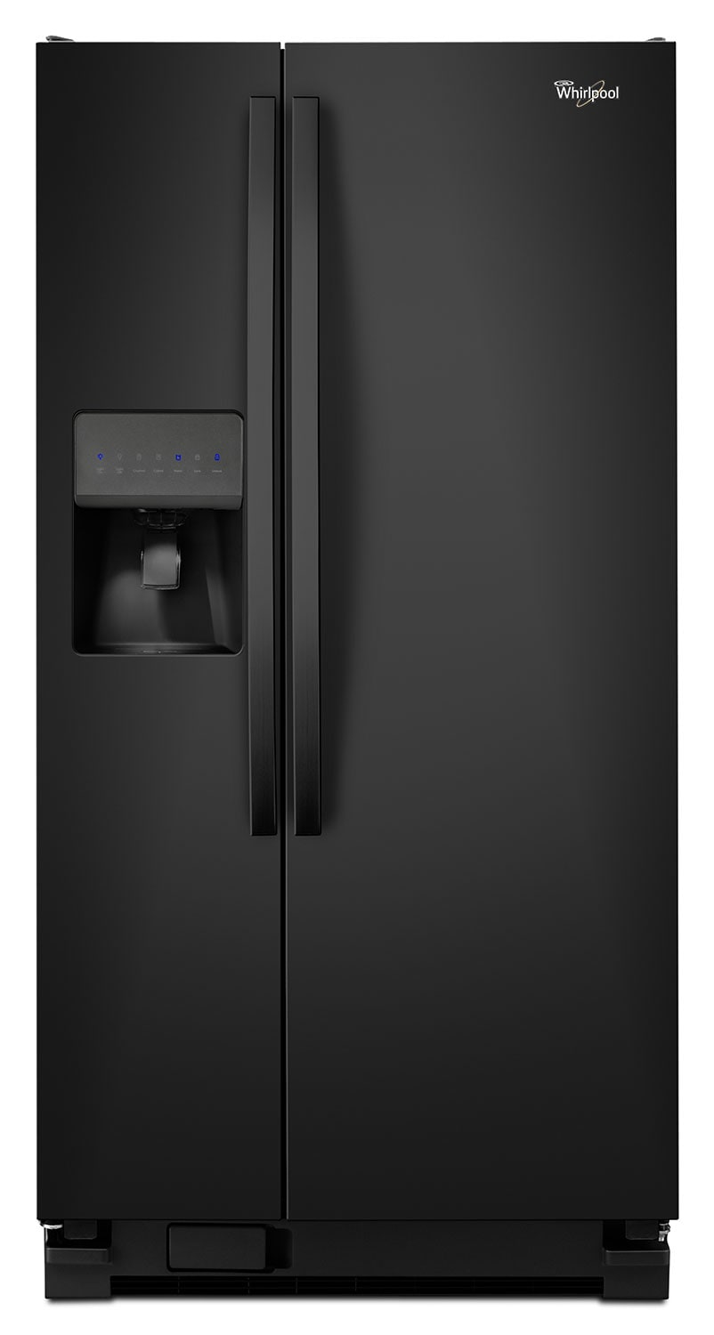 Refrigerators and Freezers - Whirlpool 21 Cu. Ft. Side-by-Side Refrigerator – WRS322FDAB