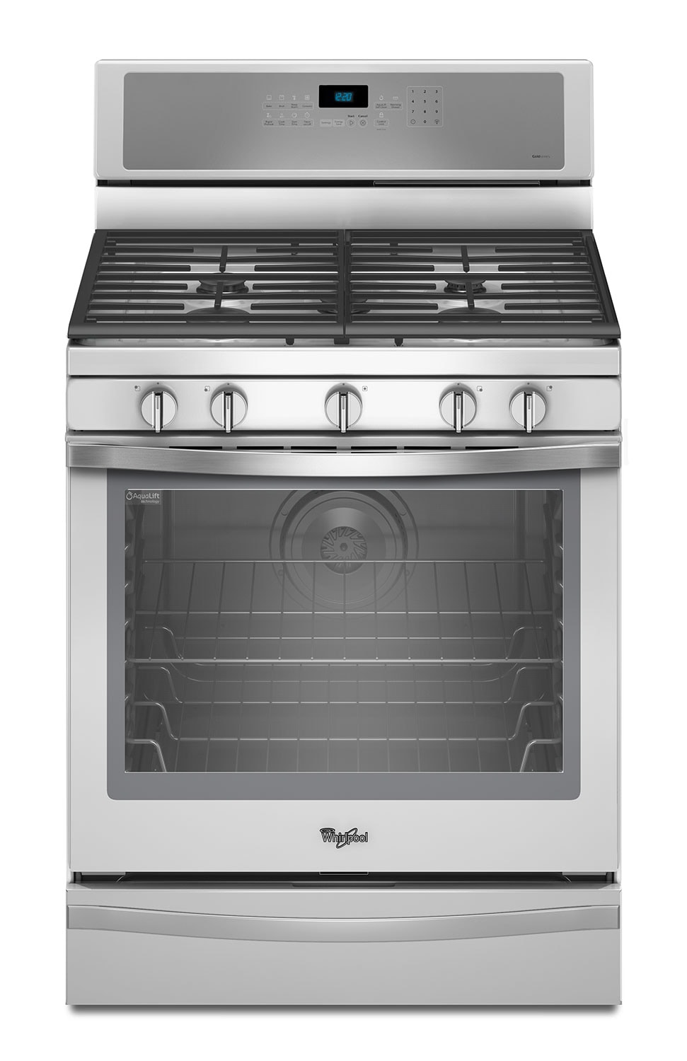 Cooking Products - Whirlpool White Ice Gas Convection Range (5.8 Cu. Ft.) - WFG715H0EH