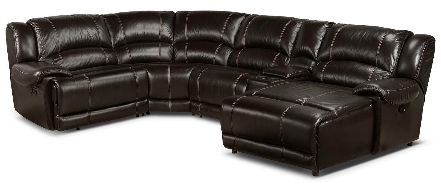 Notredame 5-Piece Right-Facing Sectional