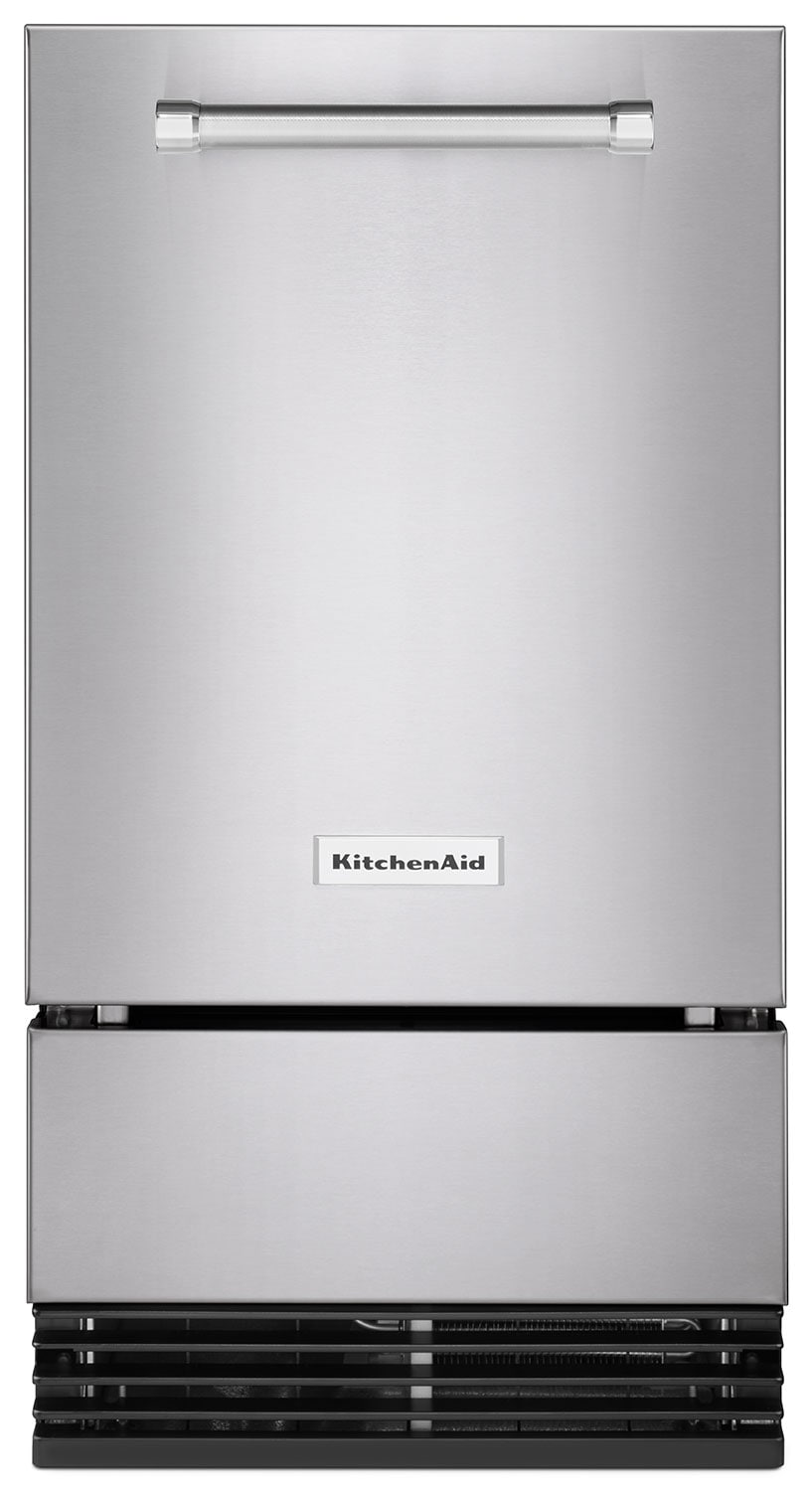 "KitchenAid 18"" Automatic Ice Maker – KUID308ESS"